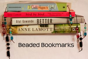 Beaded bookmarks.