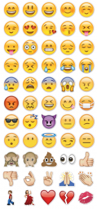 Emoji stickers from Stickers Telegram