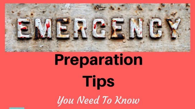 Emergency Preparation Made Simple