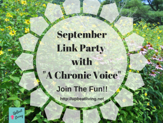 "September Link Party with ""A Chronic Voice"""