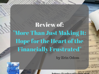 Review of: More Than Just Making It