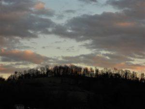 Evening Sky in December