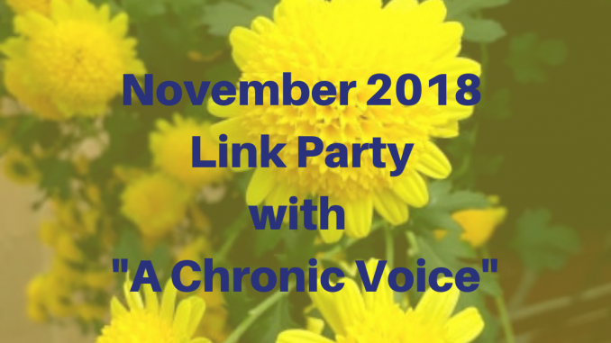 November 2018 Link Party